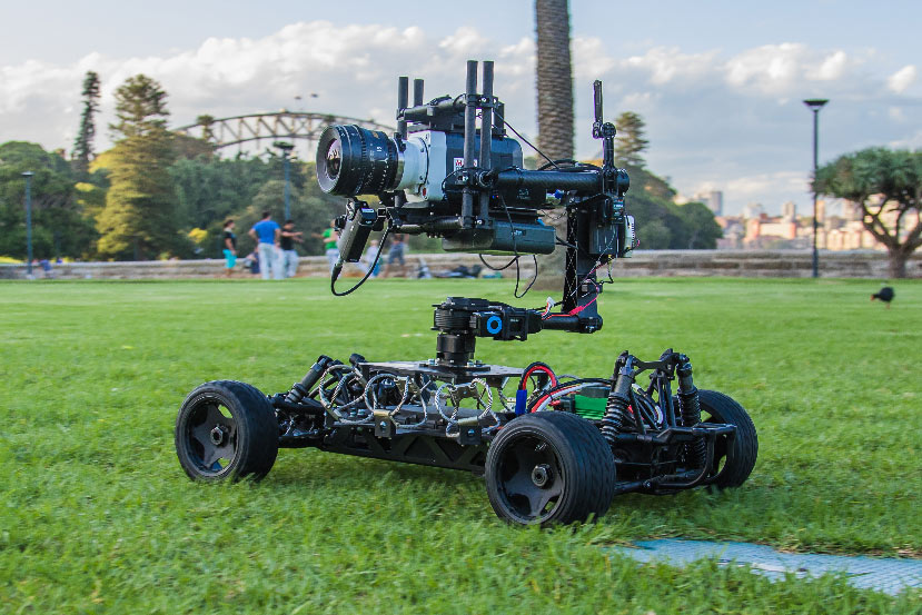 Freefly Systems MoVI Operator hire Melbourne